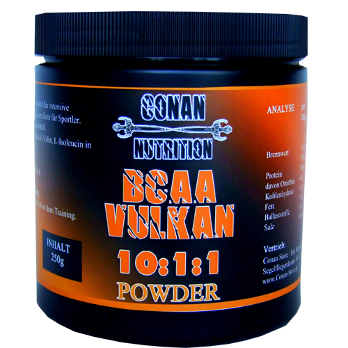 Conan Nutrition BCAA Vulkan Powder