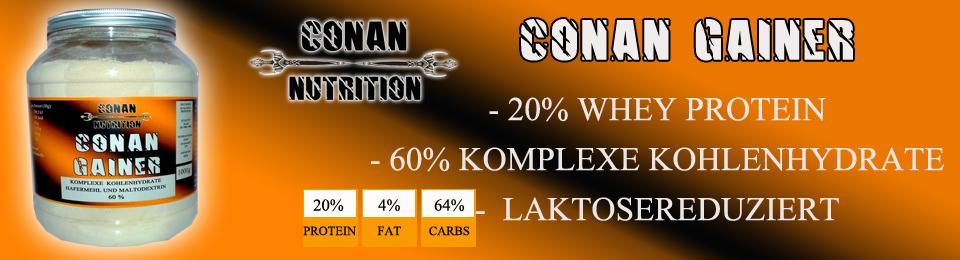 Banner Conan Nutrition CONAN GAINER