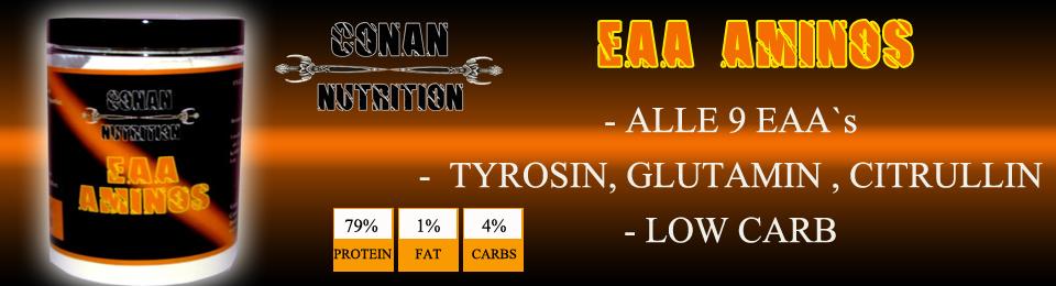 Banner Conan Nutrition EAA AMINOS