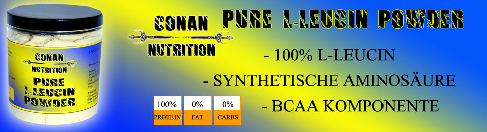 Banner Conan Nutrition PURE LEUZIN POWDER