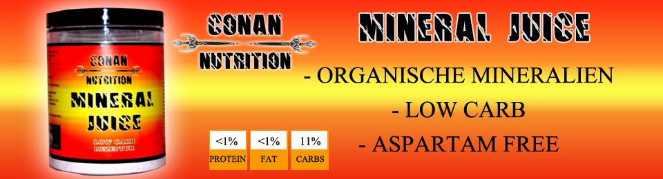 Banner Conan Nutrition Mineral Juice