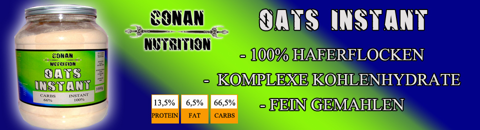 Banner Conan Nutrition OATS INSTANT