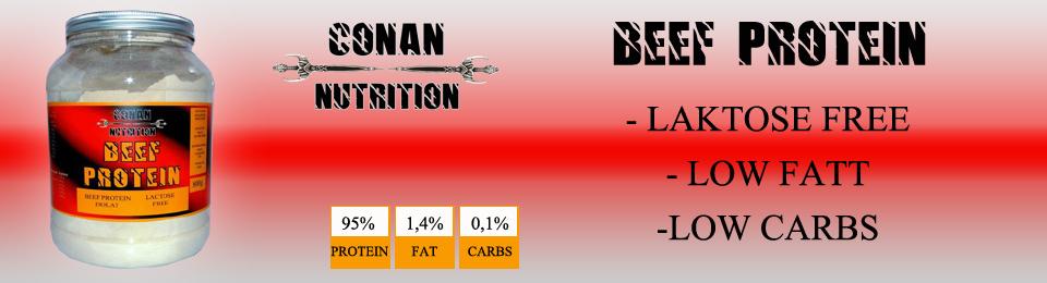 Banner Conan Nutrition beef protein