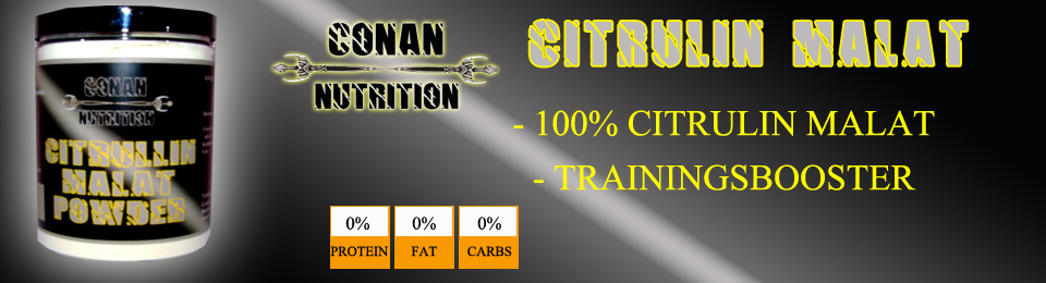 Banner Conan Nutrition CITRULLIN MALAT POWDER