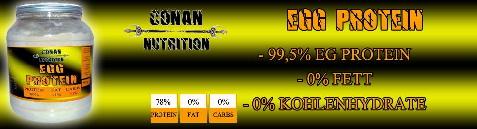 Banner Conan Nutrition egg protein