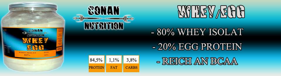 Banner Conan Nutrition whey egg