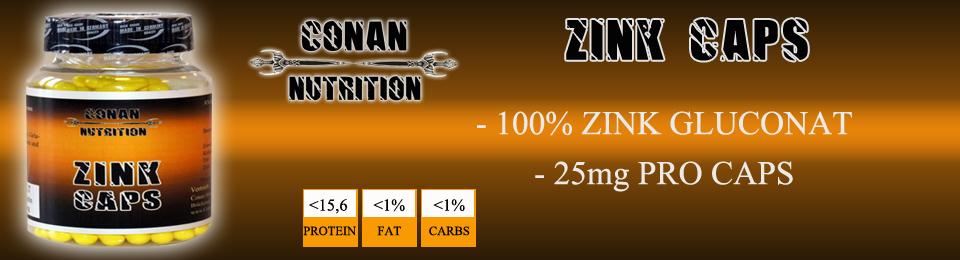 Banner Conan Nutrition zink caps