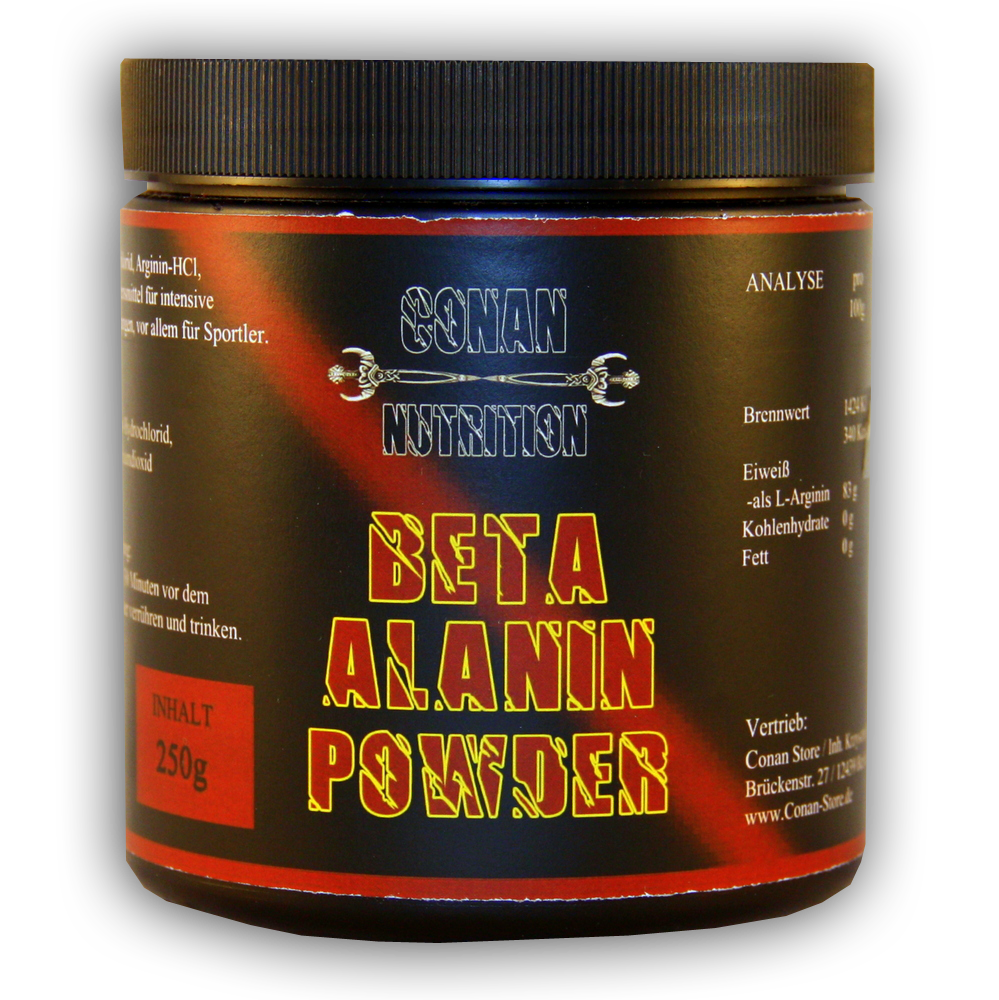 Conan Nutrition BETA ALANIN POWDER