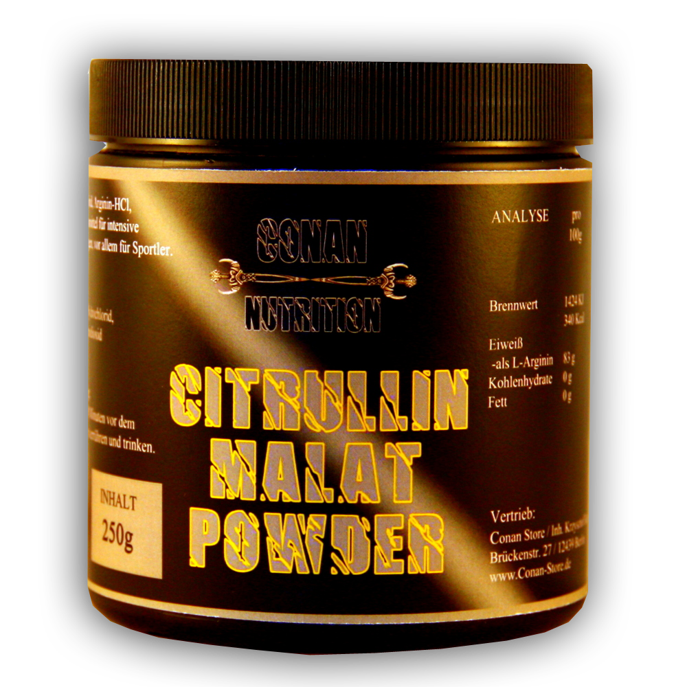 Conan Nutrition CITRULLIN MALAT POWDER