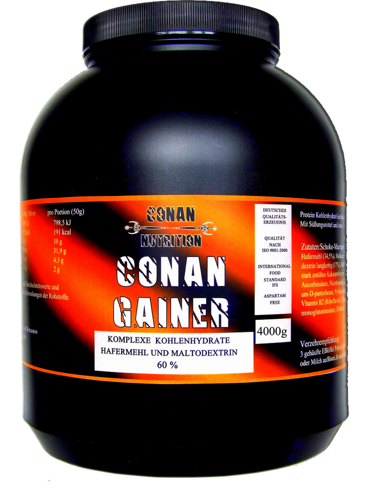 Conan Nutrition Conan Gainer