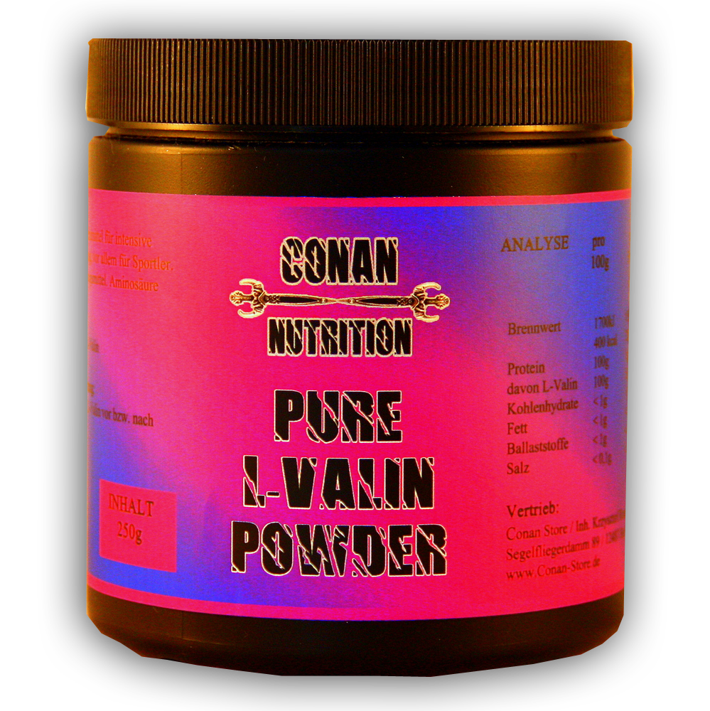 Conan Nutrition L-VALIN POWDER