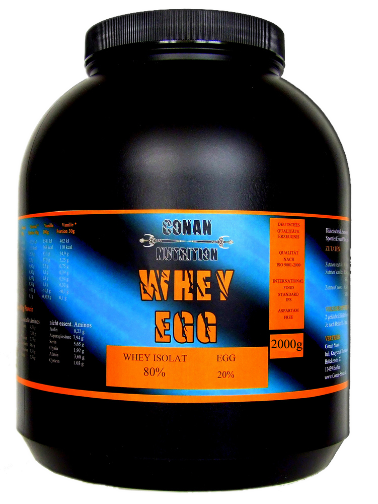 Conan Nutrition Whey EGG 2kg
