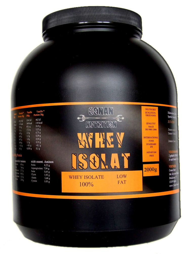 Conan Nutrition Whey Isolat 2kg