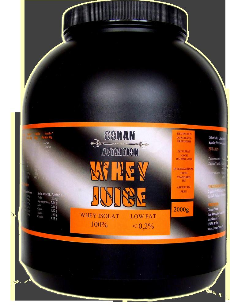 Conan Nutrition Whey Juice 2kg