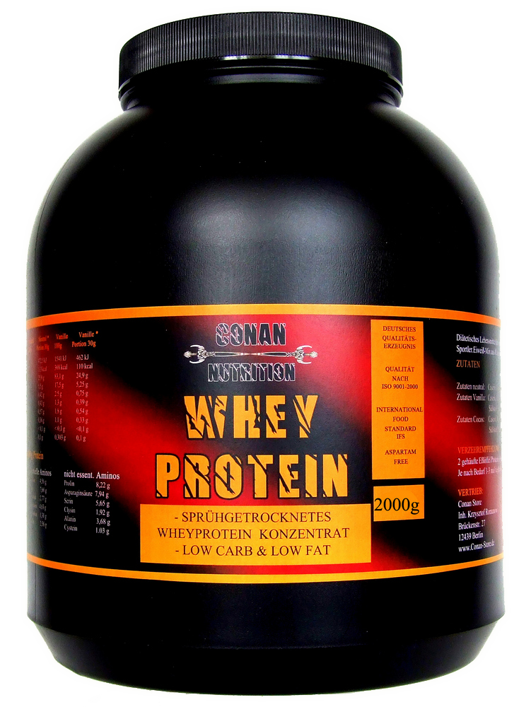 Conan Nutrition Whey protein 2kg