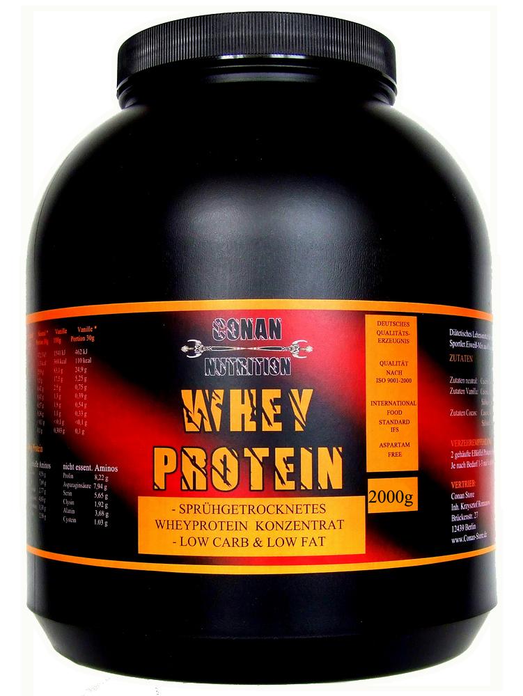 Conan Nutrition Whey protein 2kg