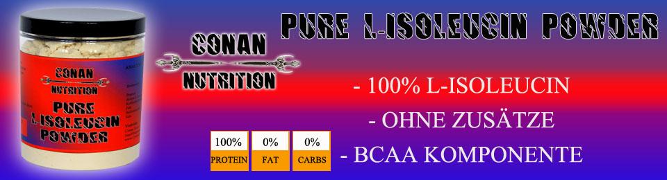 Conan Nutrition L-Isoleucin banner