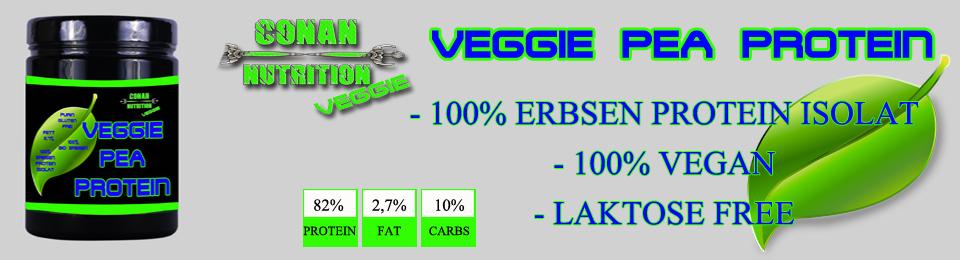 Conan Nutrition Veggie PEA protein banner