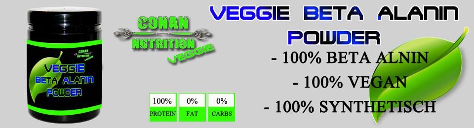 banner Conan Nutrition Veggie Beta Alanin Powder