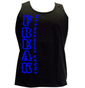 Conan Wear athletic-vest-Freak-schwarz