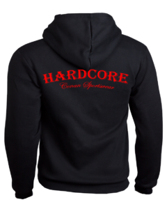 Conan Wear Sweat Jacke Hardcore schwarz