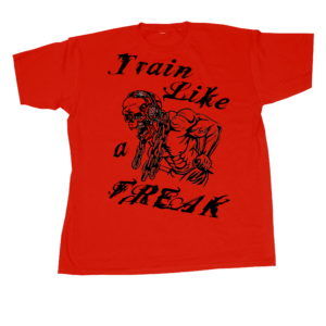 conan-wear-t-shirt-train-like-a-freak-red