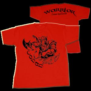 Conan Wear Warrior Vikinger Red
