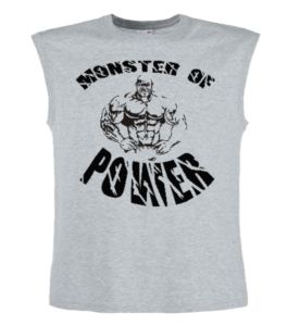 Conan Wear muscle-shirt-grau-monster