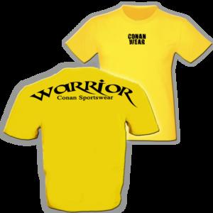 Conan Wear - t-shirt-warrior-gelb