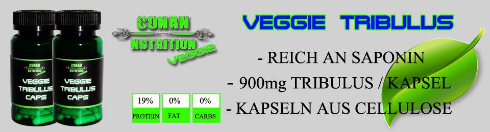 Conan Nutrition Veggie Banner TRIBULUS CAPS